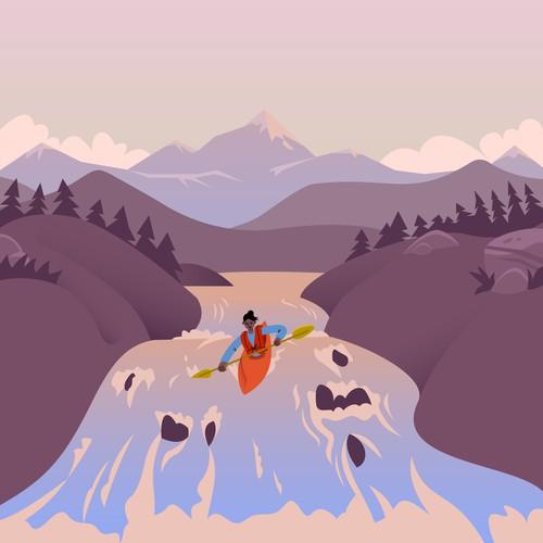 Illustration for the website