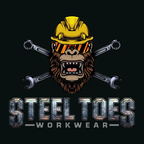 Strong Gorilla logo for workwear store