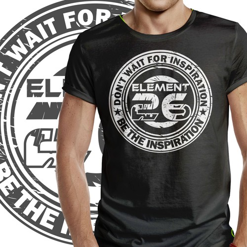 Inspiring CrossFit and Weightlifting T-Shirt for Element 26 Brand