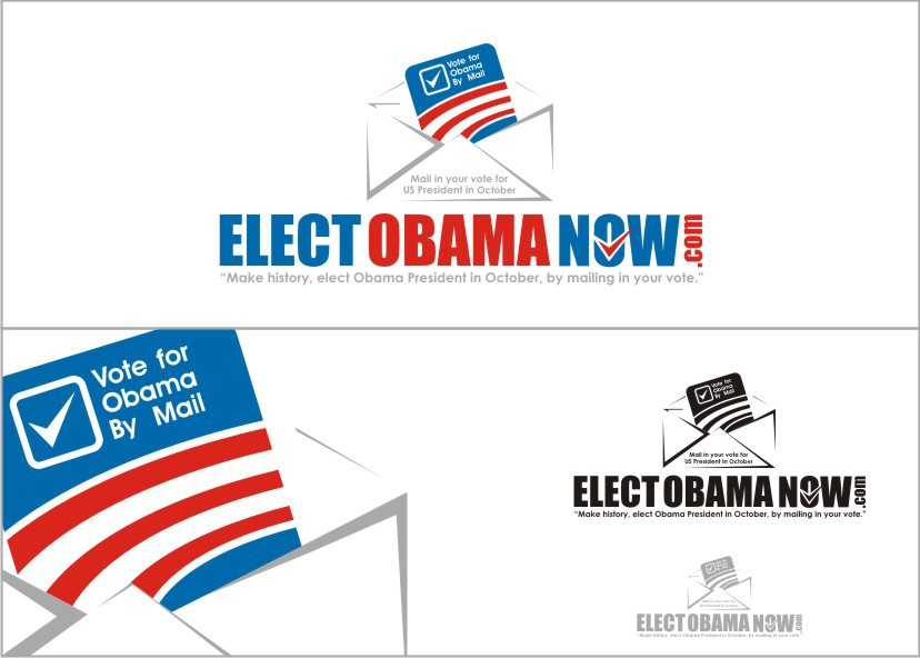 Elect Obama Now.com needs a new logo