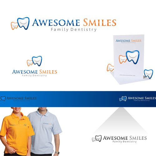 Make people smile by creating an great logo for Awesome Smiles!