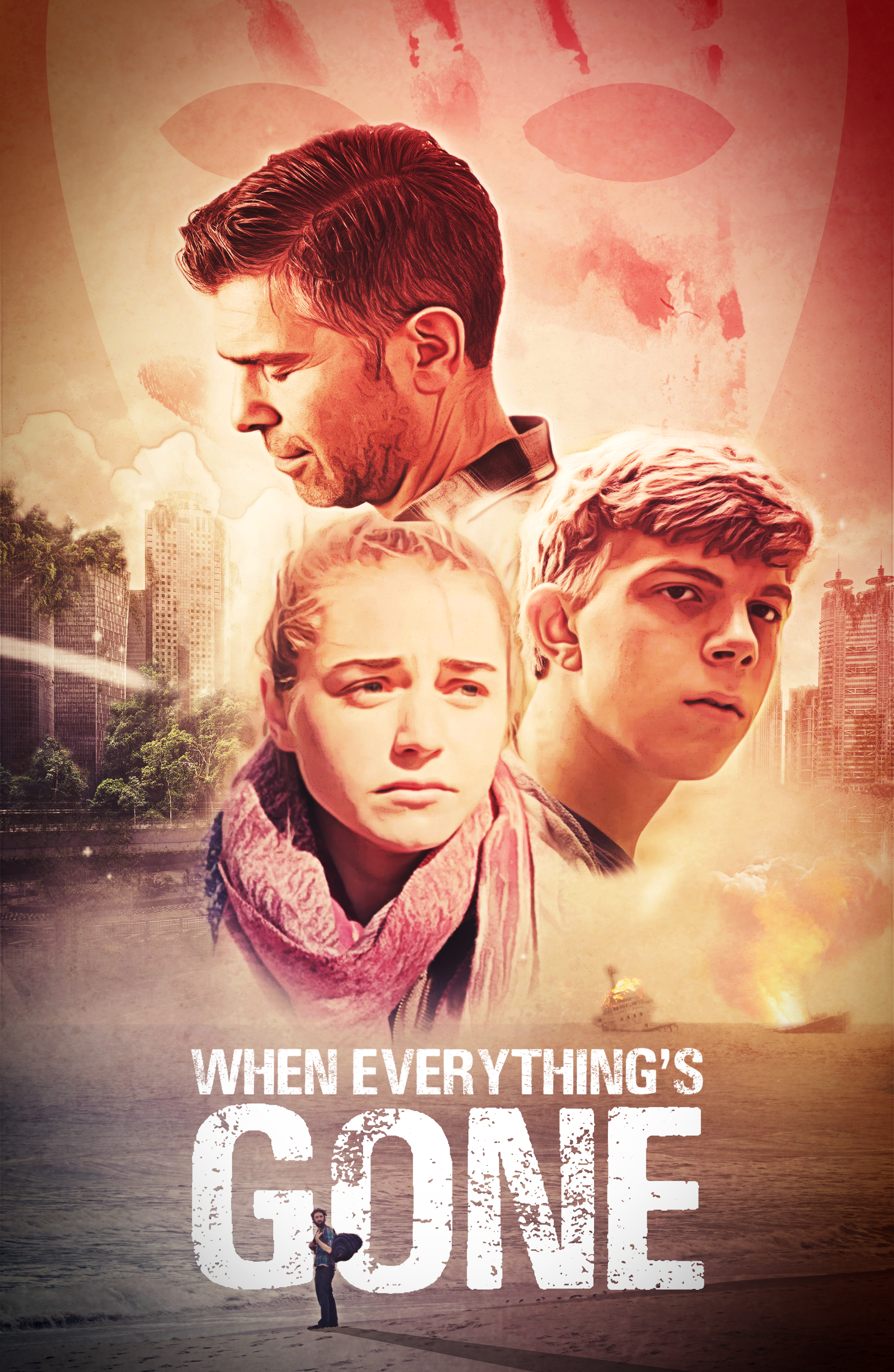 When Everything's Gone Movie Poster Design