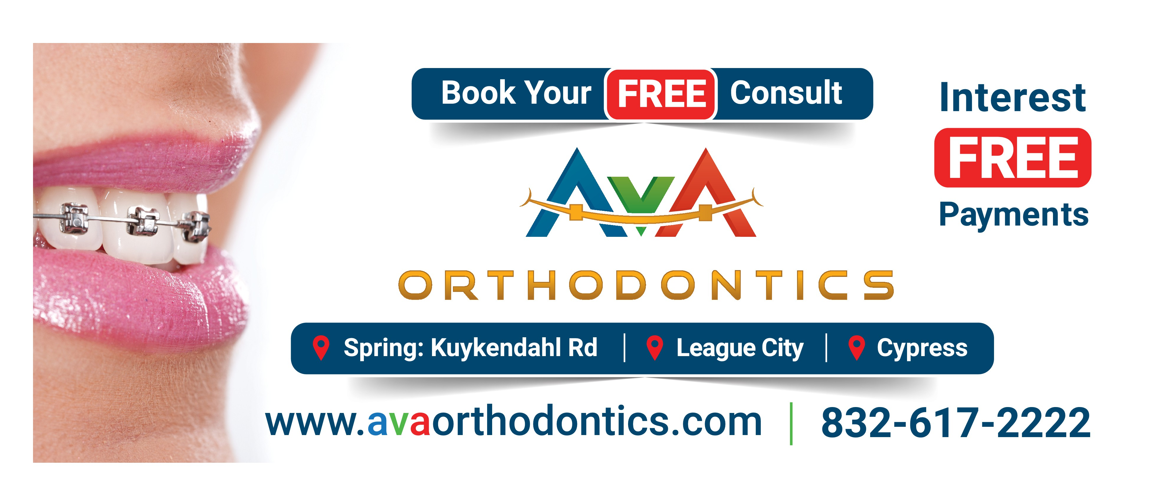 Hot Billboard Design Wanted - AvA Orthodontics
