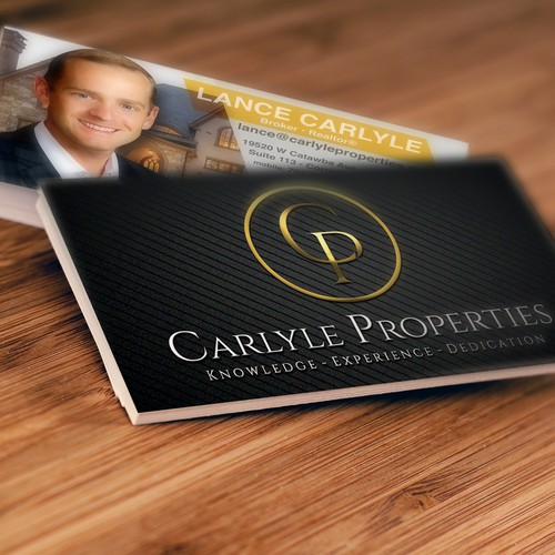 Business Card Design - Carlyle Properties