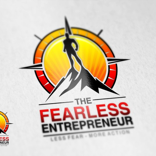 "Inspiring Logo For ""The Fearless Entrepreneur"""