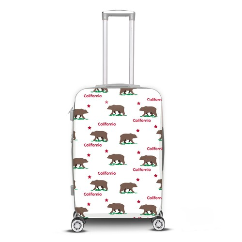 Luggage pattern design