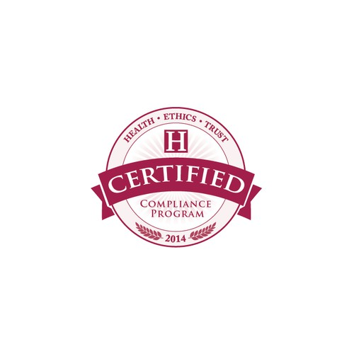Create a Certification Seal for a non-profit organization serving healthcare organizations.