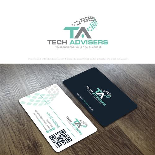 Tech Advisers Logo Design