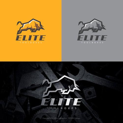 "Concept logo for 'ELITE"""