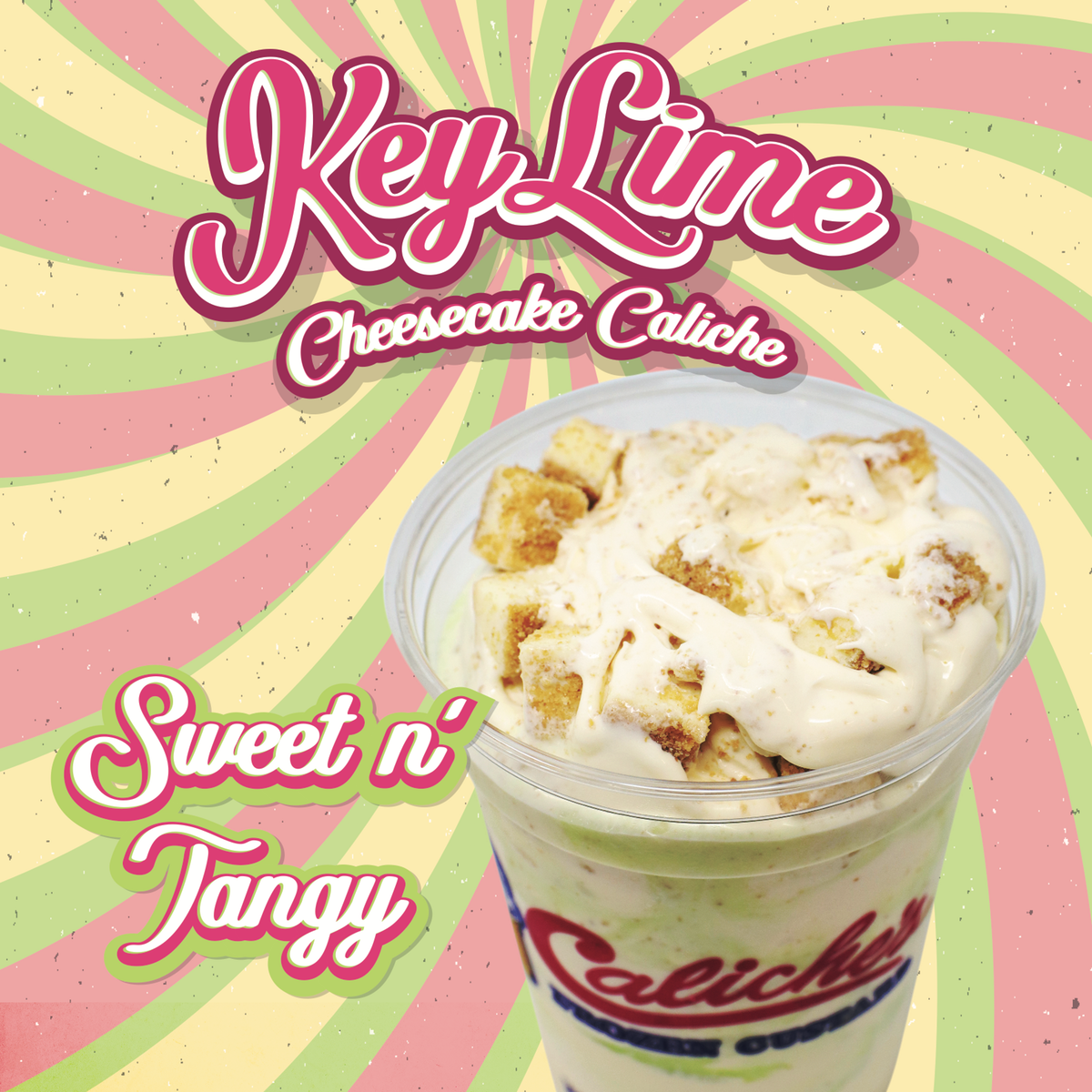 March's Keylime Cheesecake Caliche poster
