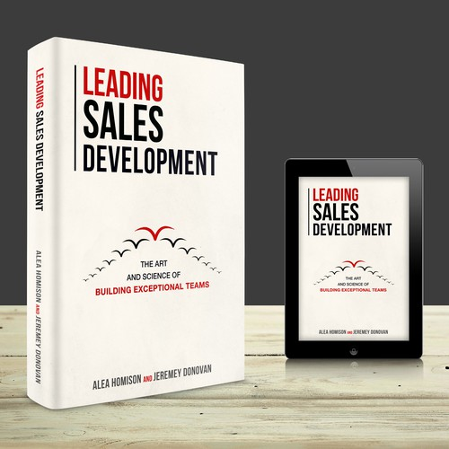 BOLD, CLEAN, SIMPLE LEADERSHIP Book Cover for Sales Book