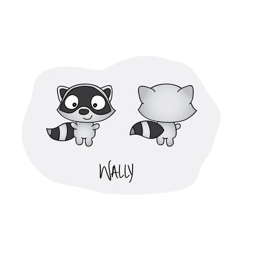 Wally the Raccoon