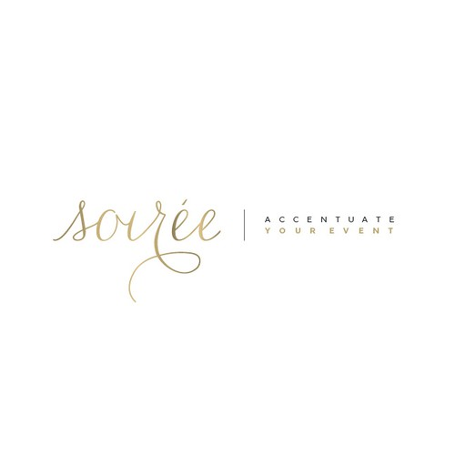 Logo design for Soirée Events