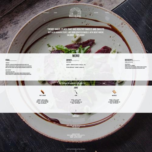 Website for Bagels & More