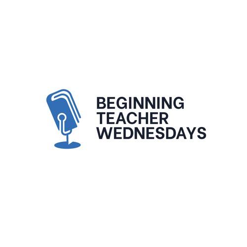 Concept Logo Design for Beginning Teacher Wednesday