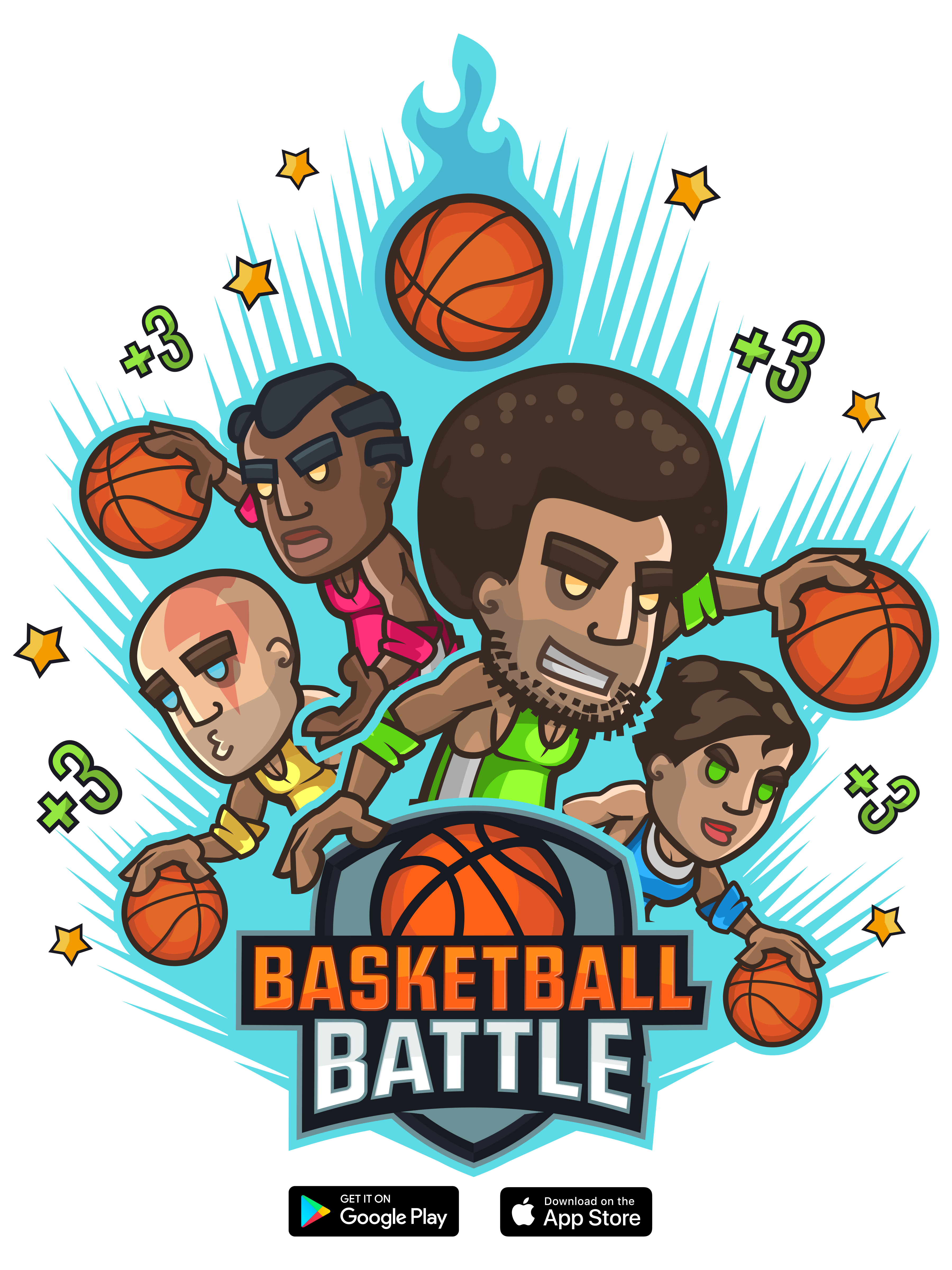 Create t-shirt for Basketball Battle (mobile game)