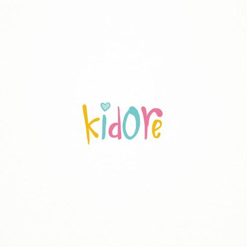 Kidore Logo Design