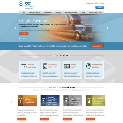 World-Class Transportation & Logistics Website