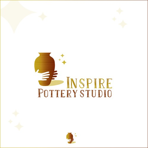 Logo concept for a Pottery school
