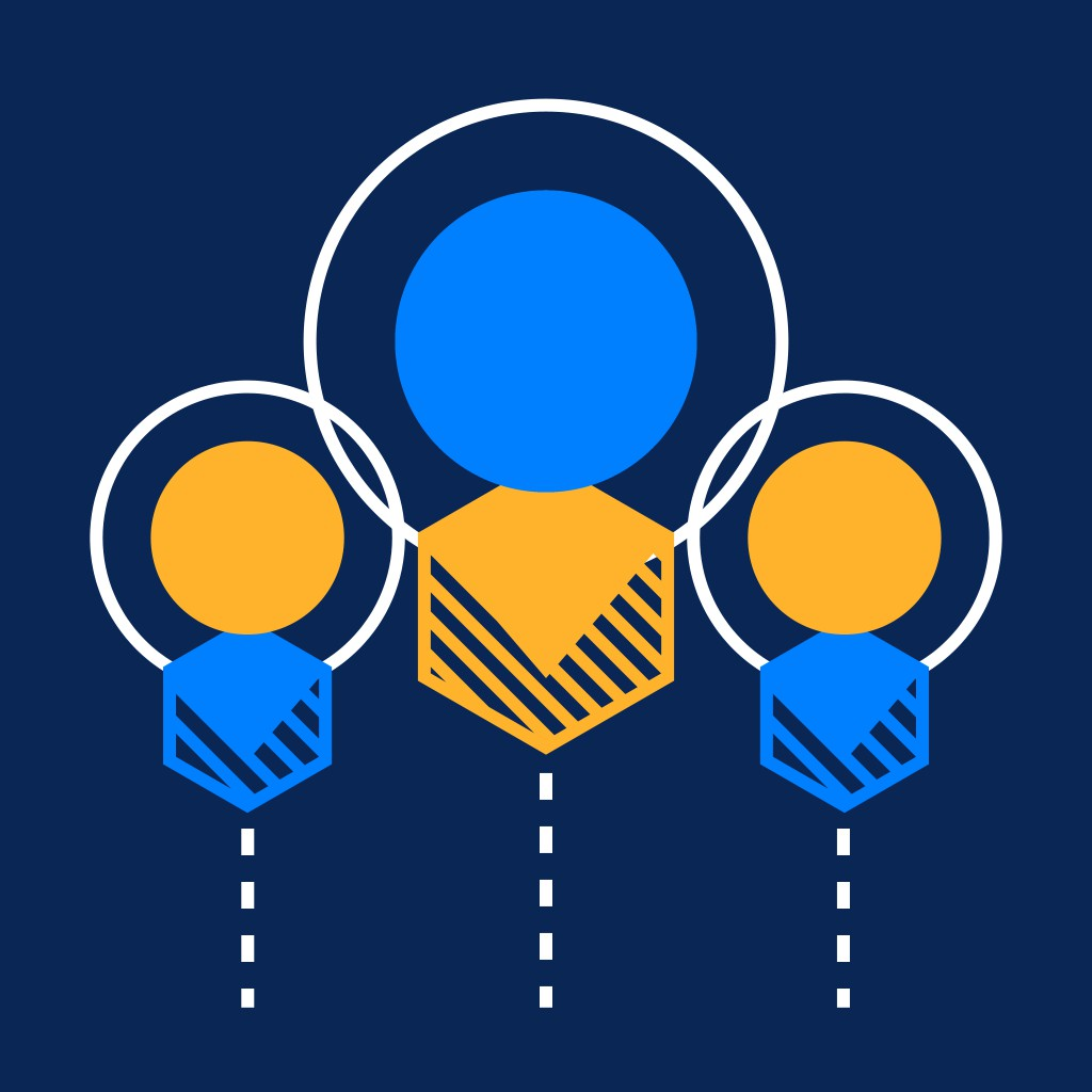 Icon design for GroupM