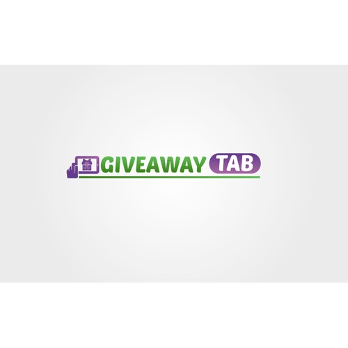 Help Giveaway Tab with a new logo