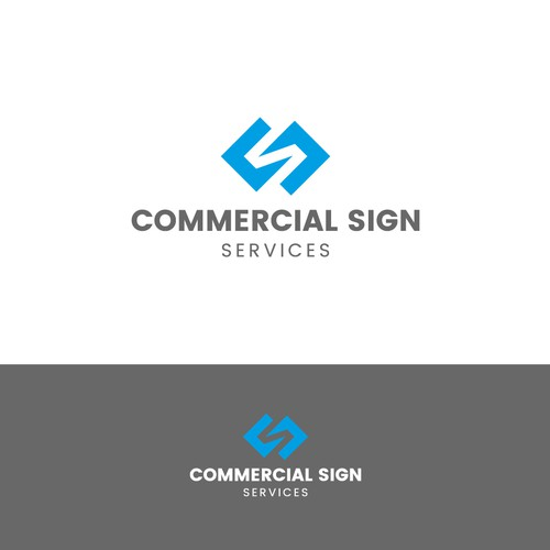 Commercial Sign Services Logo