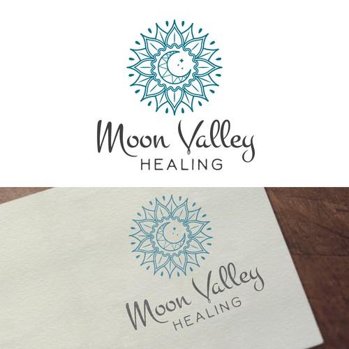 Logo for a spiritual healer