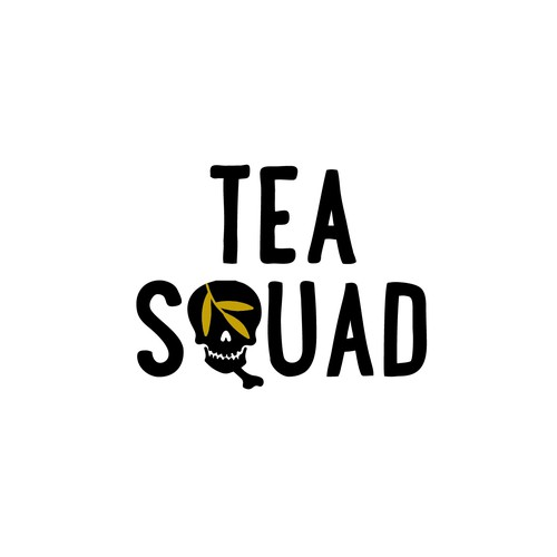 Logo Concept for Tea Squad