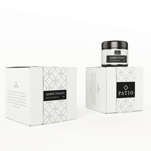 Bakhoor perfume packaging