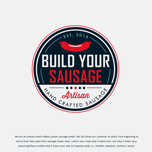 Build Your Sausage Logo