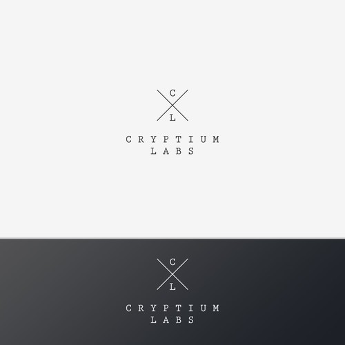 Super minimalist logo for a IT company