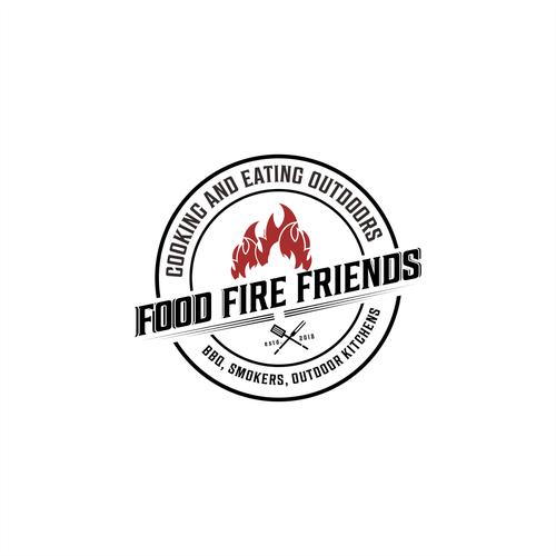 food fire friends