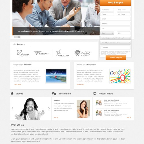 Create the next website design for Rise Online