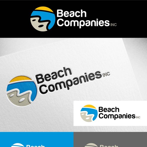 Logo Design for Beach Companies Inc and its subsidiaries
