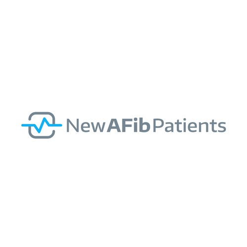 Modern logo for NewAFibPatients