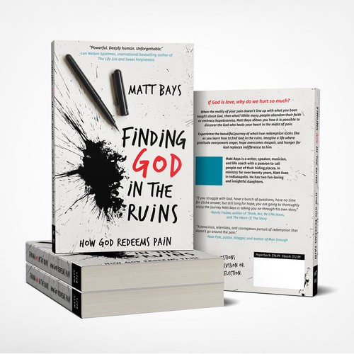 "Book Cover for ""Finding God In The Ruins"""
