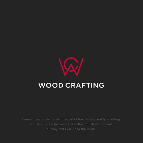 Logo concept for Wood Crafting