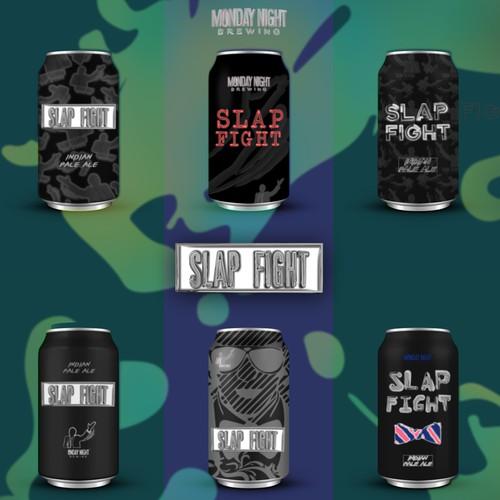 Modern Beer Branding Concept