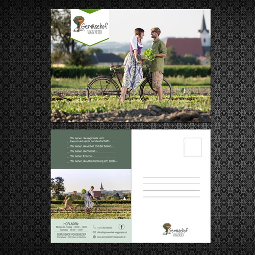 Post Card for Gemiisehof Family Organic Farm