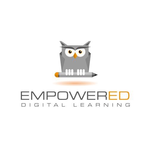 Logo concept digital learning