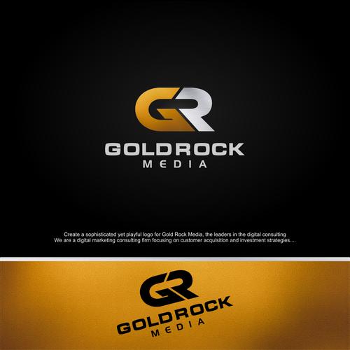 concept for gold rock media