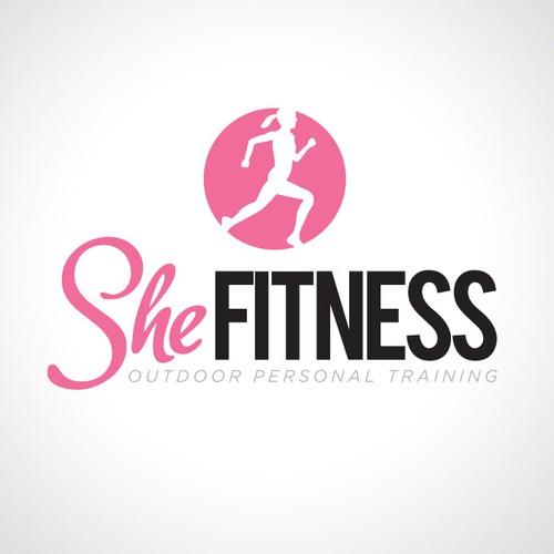 Modern & Creative Logo for SHE FITNESS