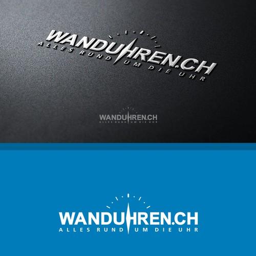 "::徽标设计""Wanduhren.ch"""