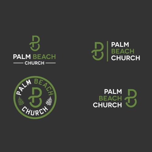 Palm Beach Church Logo Design