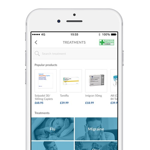 Health App with live consultants and E-Commerce Pharmacy