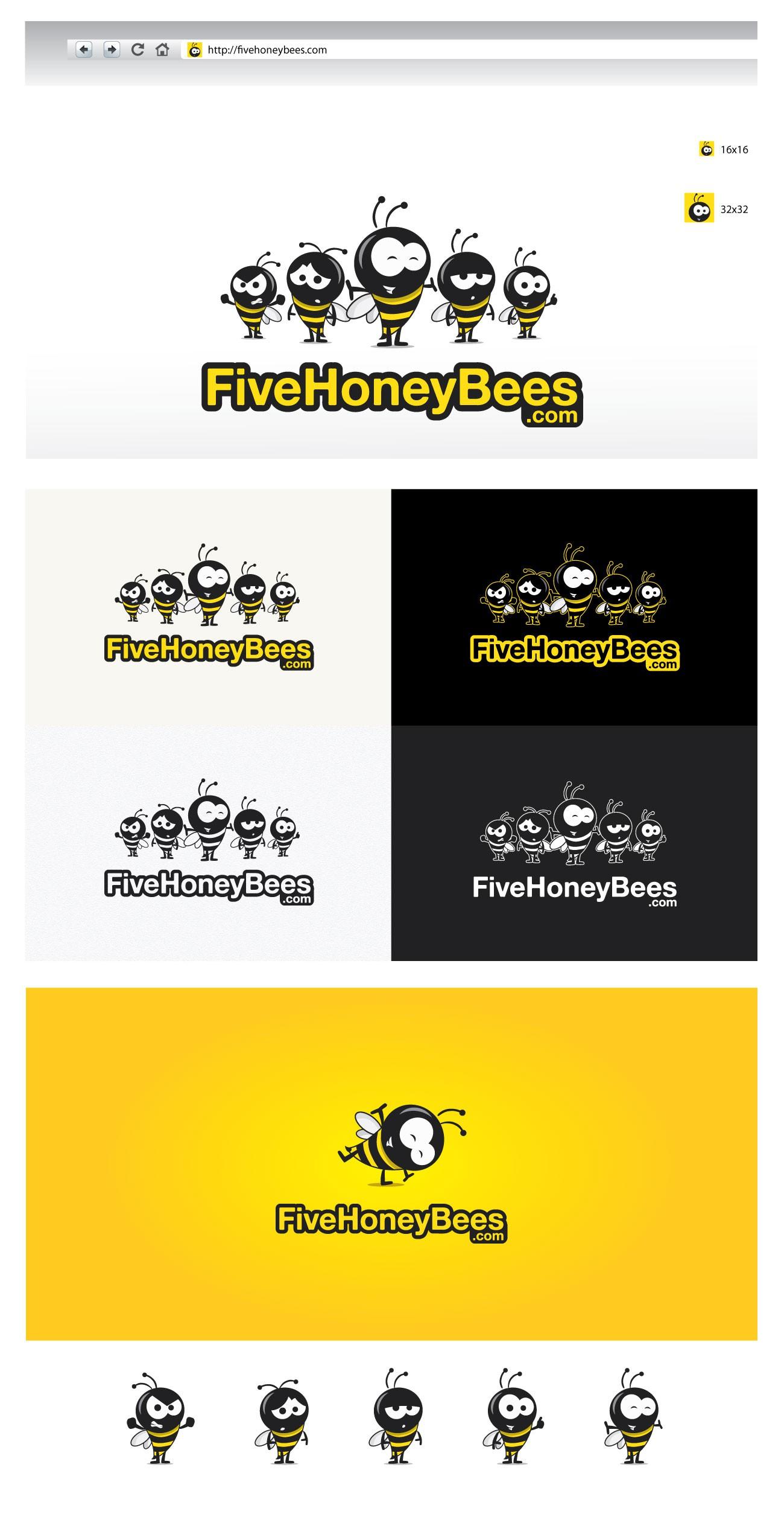 Help FiveHoneyBees.com with a new logo