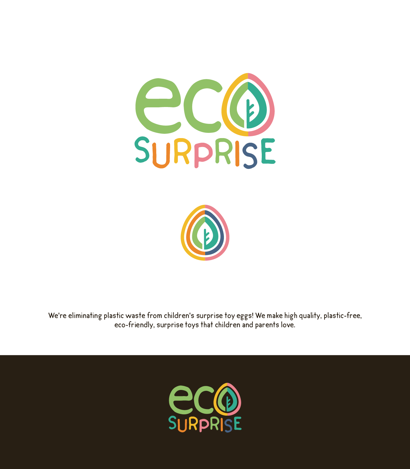 Eco surprise needs an awesome logo!