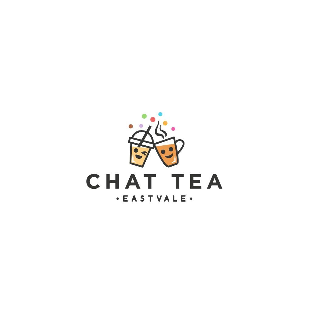 Boba tea Cafe needs a cute, modern logo