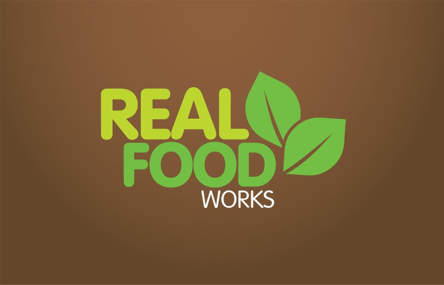 Create the next logo for Real Food Works