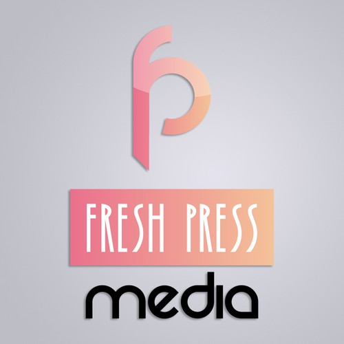 Logo design concept for Fresh Press